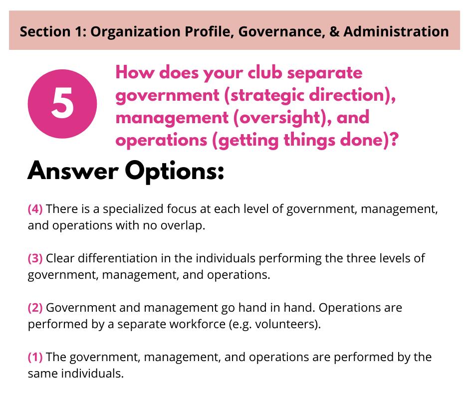 S1 Q5 Organizational Levels