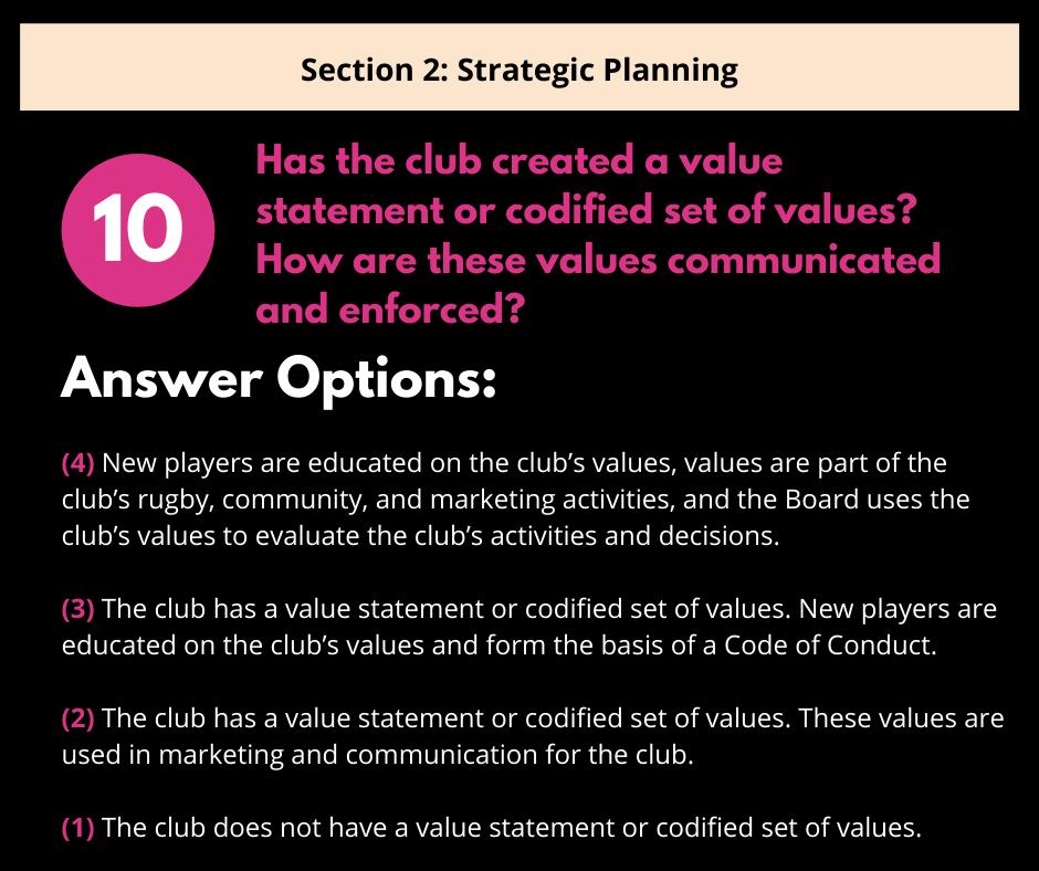 S2 Q3 Club Values