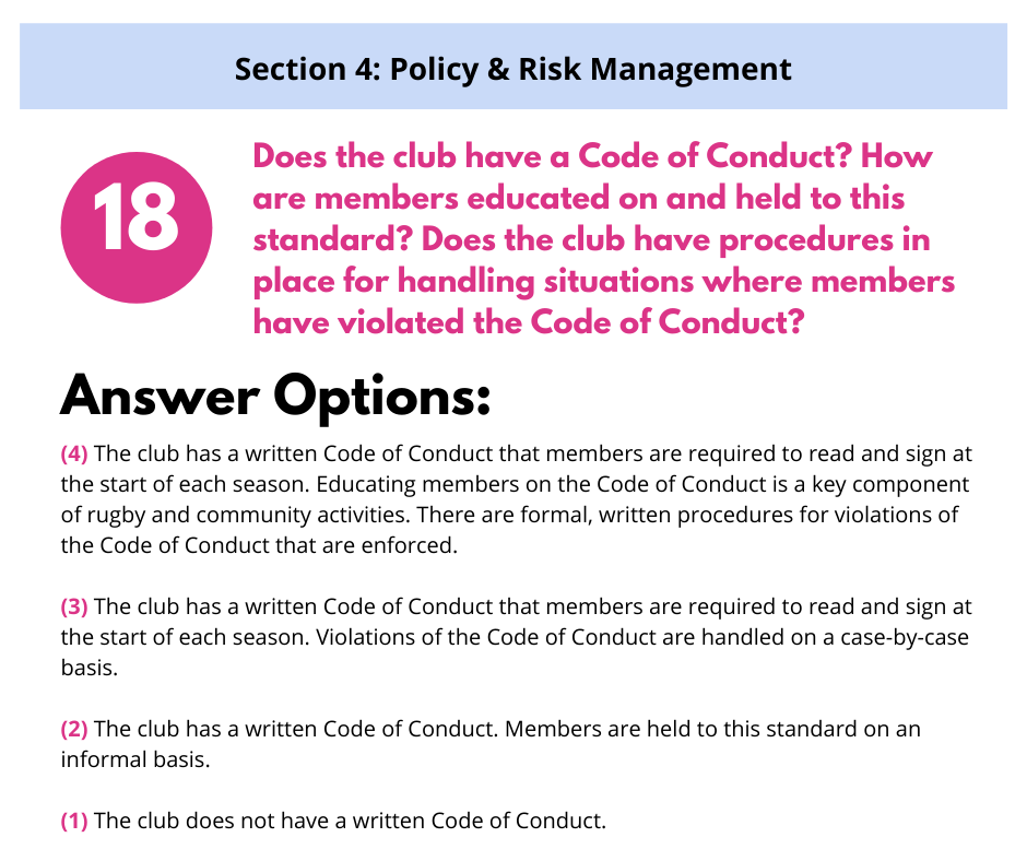 S4 Q1 Code of Conduct