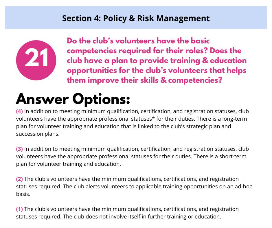 S4 Q4 Training & Education