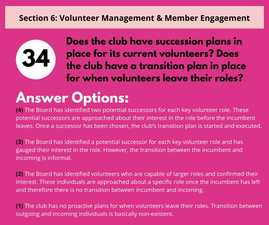 S6 Q6 Succession Planning