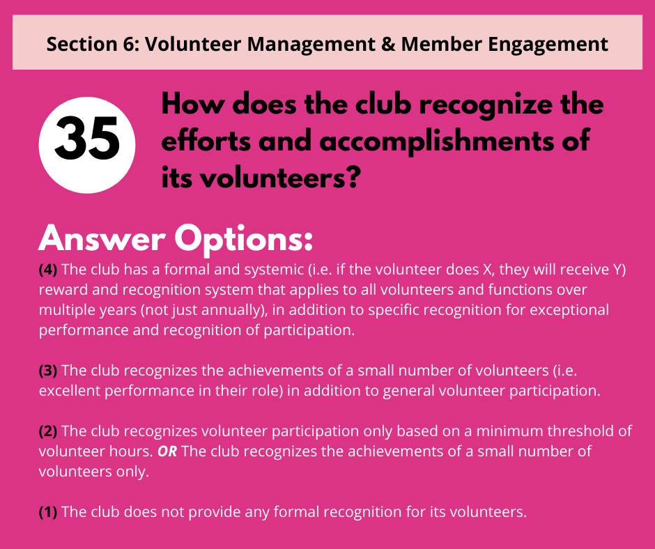 S6 Q7 Volunteer Recognition
