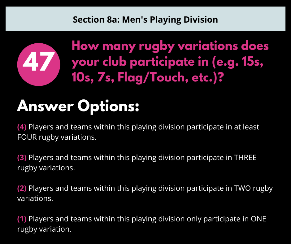 S8a Q6 Rugby Variations