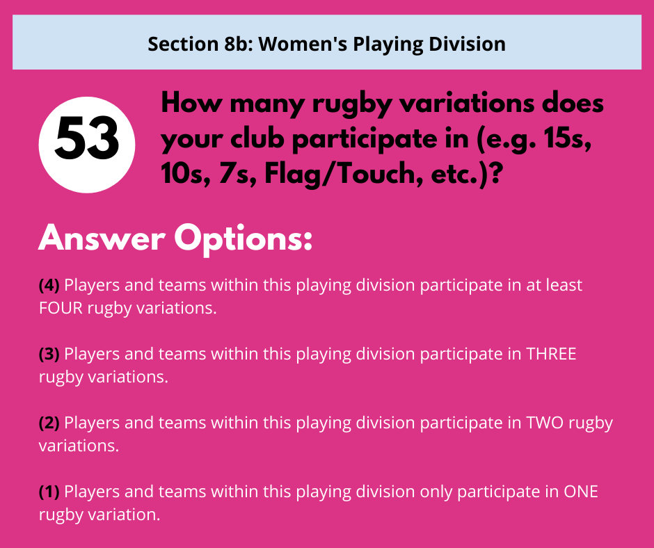 S8b Q6 Rugby Variations