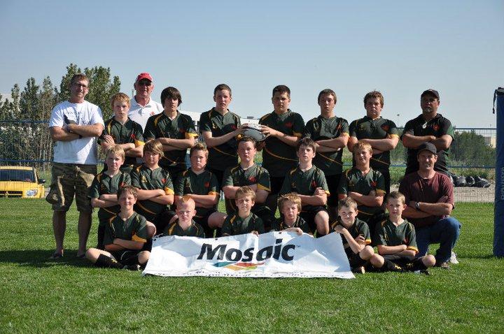 U14 Sask Team 2010