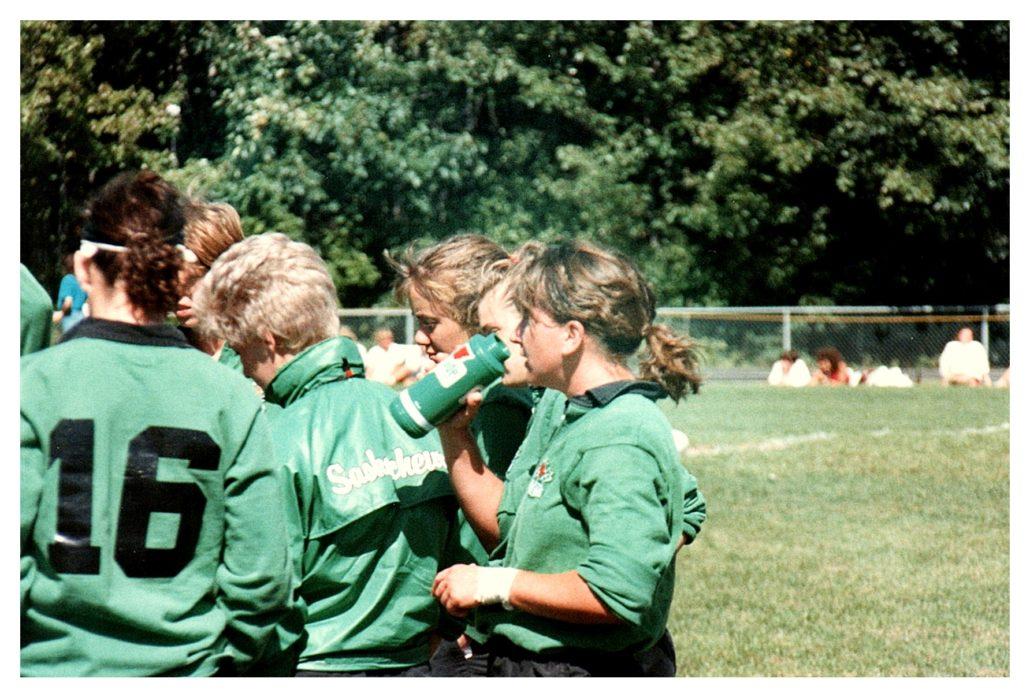 Sask Women 1988 Nationals