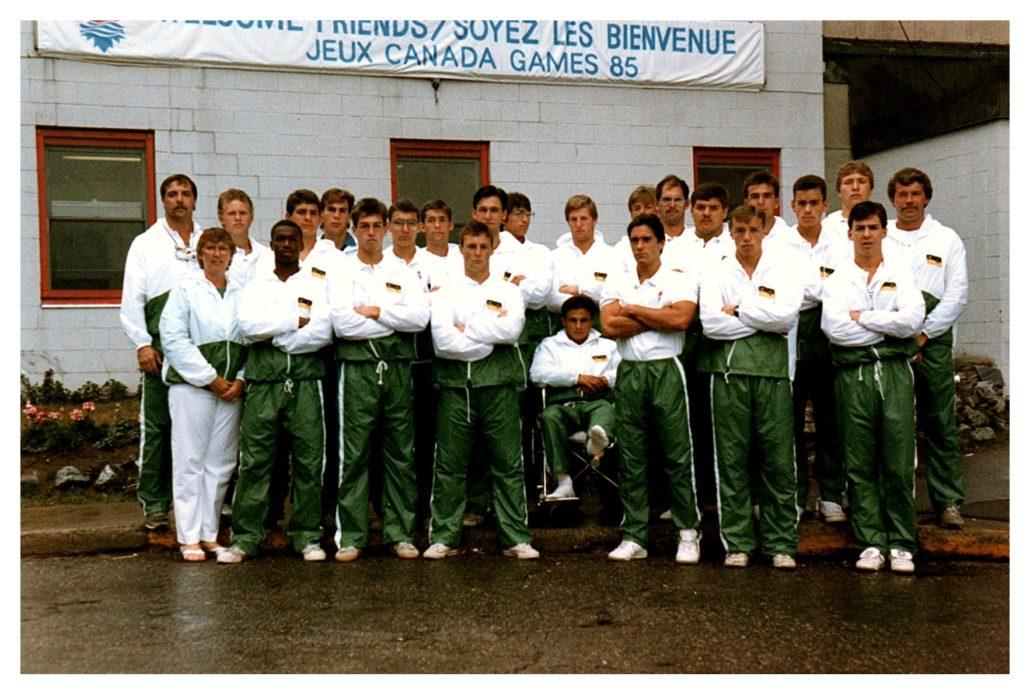 Canada Games Team Sask 1985