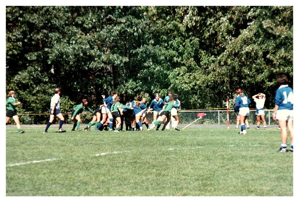 SASK vs QUEBEC Women 1988 Nationals